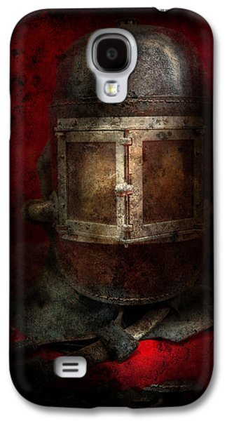 Brigade Galaxy S4 Cases - Fireman - The Mask Galaxy S4 Case by Mike Savad