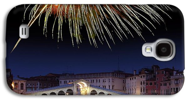 Pyrotechnics Galaxy S4 Cases - Fireworks Display, Venice Galaxy S4 Case by Tony Craddock