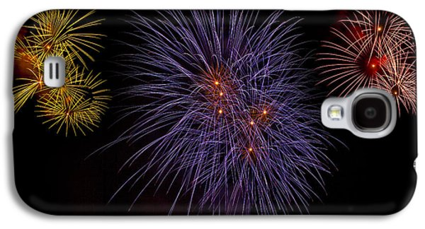Pyrotechnics Galaxy S4 Cases - Fireworks Galaxy S4 Case by Joana Kruse