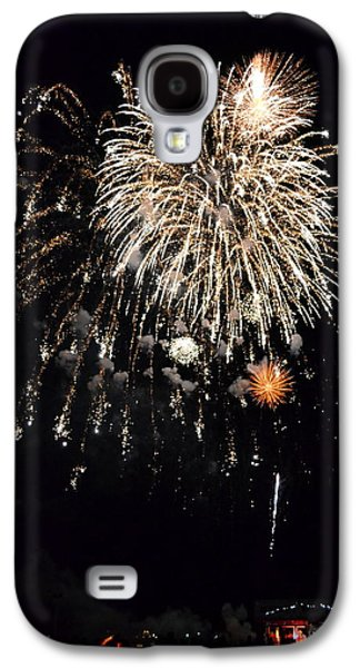 Pyrotechnics Galaxy S4 Cases - Fireworks Galaxy S4 Case by Michelle Calkins