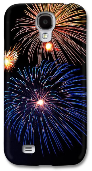 Pyrotechnics Galaxy S4 Cases - Fireworks Wixom 1 Galaxy S4 Case by Michael Peychich