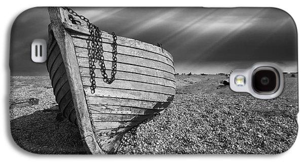 Fishing Boat Graveyard 2 Galaxy S4 Case by Meirion Matthias