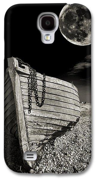 Moon Galaxy S4 Cases - Fishing Boat Graveyard 3 Galaxy S4 Case by Meirion Matthias