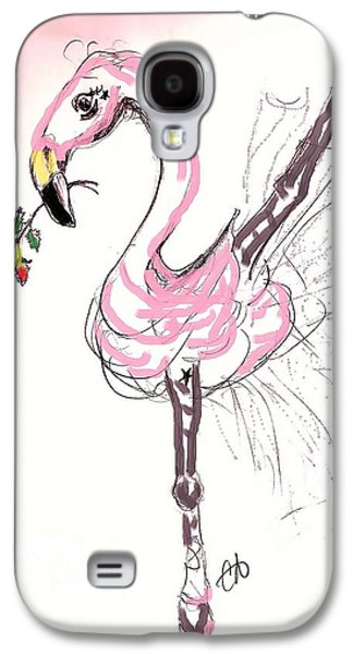 Dance Ballet Roses Galaxy S4 Cases - Flamenco Flamingo Galaxy S4 Case by Carol Allen Anfinsen