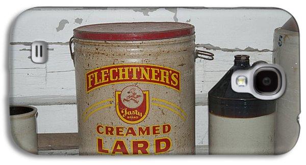 Crocks Galaxy S4 Cases - Flechtners Creamed Lard Galaxy S4 Case by Michael Peychich