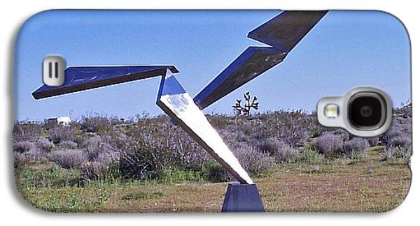 Abstract Movement Sculptures Galaxy S4 Cases - Flight  Galaxy S4 Case by John Neumann