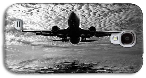 Jet Photographs Galaxy S4 Cases - Flight path 2 Galaxy S4 Case by Sharon Lisa Clarke