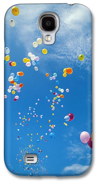 Freedom Party Galaxy S4 Cases - Float Away Galaxy S4 Case by Bob Abraham - Printscapes