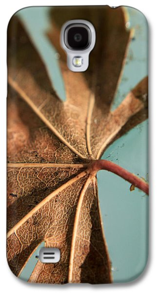 Nature Abstracts Galaxy S4 Cases - Floating and Drifting Galaxy S4 Case by Laurie Search