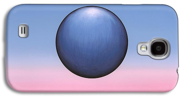 Concept Photographs Galaxy S4 Cases - Floating Sphere, Abstract Artwork Galaxy S4 Case by Richard Bizley