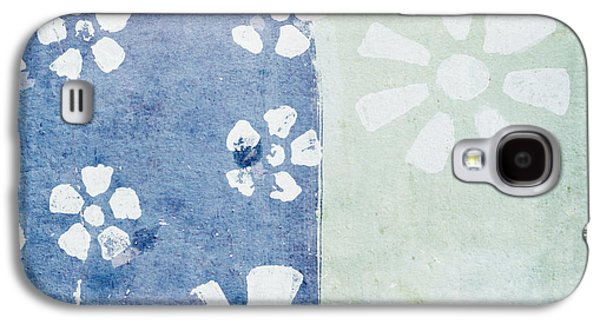 Torn Galaxy S4 Cases - Floral Pattern On Old Grunge Paper Galaxy S4 Case by Setsiri Silapasuwanchai