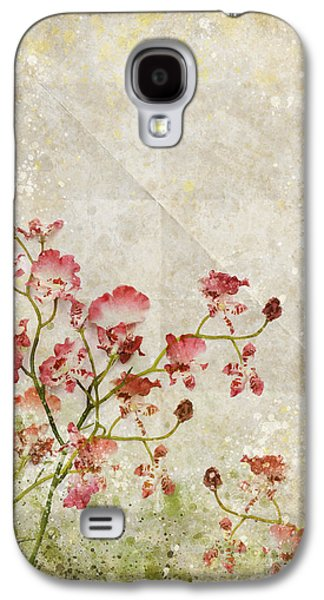 Torn Galaxy S4 Cases - Floral Pattern Galaxy S4 Case by Setsiri Silapasuwanchai