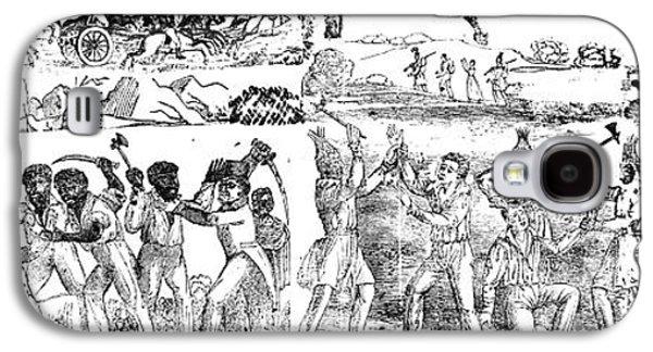 African-american Galaxy S4 Cases - Florida: Seminole War Galaxy S4 Case by Granger