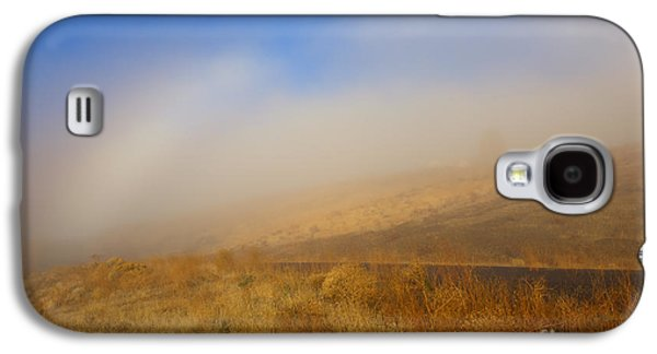 Yakima Valley Galaxy S4 Cases - Fog Bow at Lookout Point Galaxy S4 Case by Mike  Dawson