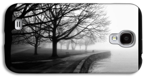 Abstract Digital Pyrography Galaxy S4 Cases - Foggy Day H-1 Galaxy S4 Case by Mauro Celotti