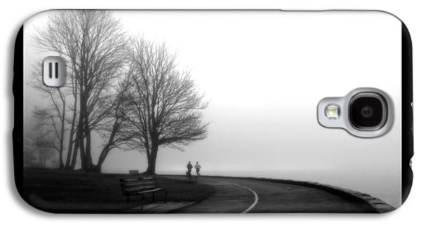 Abstract Digital Pyrography Galaxy S4 Cases - Foggy Day H-2 Galaxy S4 Case by Mauro Celotti
