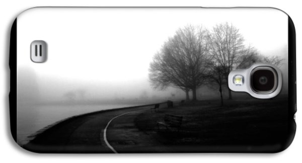 Abstract Digital Pyrography Galaxy S4 Cases - Foggy Day H-3 Galaxy S4 Case by Mauro Celotti