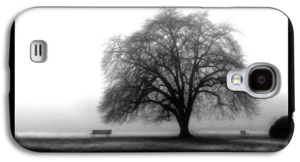 Abstract Digital Pyrography Galaxy S4 Cases - Foggy Day H-4 Galaxy S4 Case by Mauro Celotti