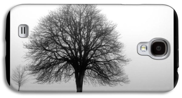 Abstract Digital Pyrography Galaxy S4 Cases - Foggy Day H-5 Galaxy S4 Case by Mauro Celotti