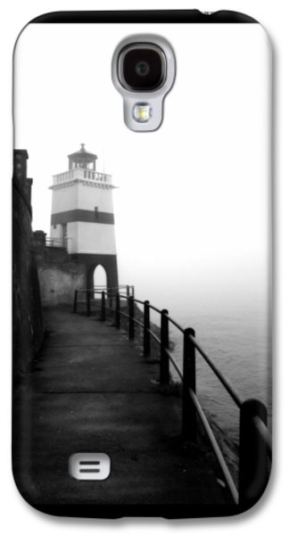 Abstract Digital Pyrography Galaxy S4 Cases - Foggy Day V-3 Galaxy S4 Case by Mauro Celotti