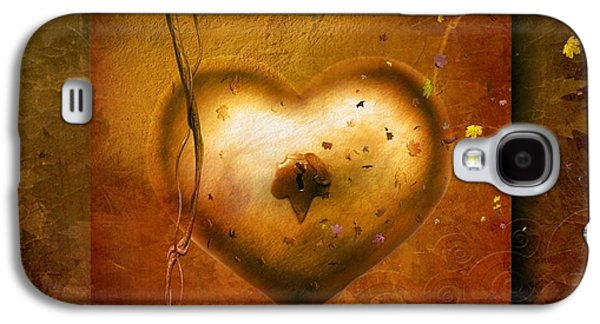 Emotion Mixed Media Galaxy S4 Cases - For all the love Galaxy S4 Case by Photodream Art
