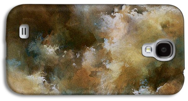 Abstract Landscape Galaxy S4 Cases - Force of nature Galaxy S4 Case by Michael Lang