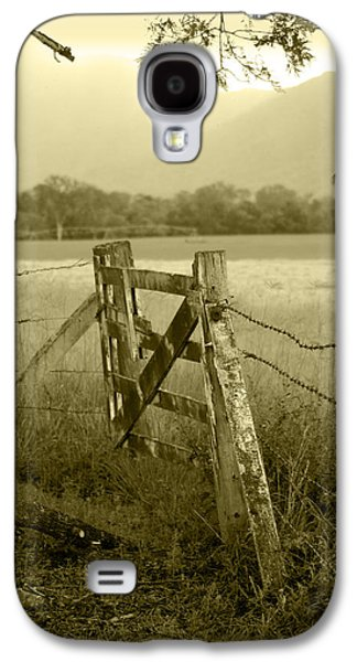 Holly Kempe Galaxy S4 Cases - Forgotten Fields Galaxy S4 Case by Holly Kempe