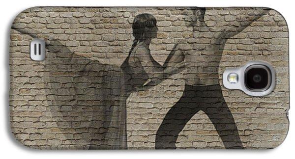 Ballet Dancers Digital Art Galaxy S4 Cases - Forgotten Romance 2 Galaxy S4 Case by Naxart Studio