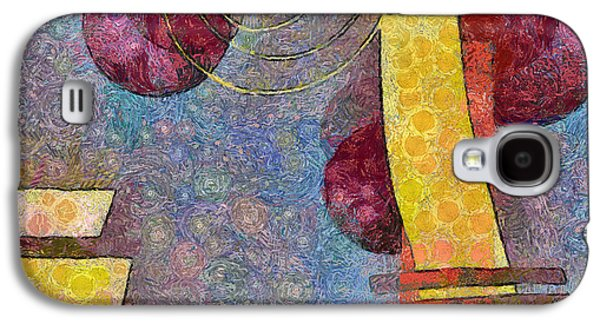 Abstract Digital Art Galaxy S4 Cases - Formes - 08a Galaxy S4 Case by Variance Collections