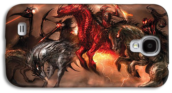 Concept Art Galaxy S4 Cases - Four Horsemen Galaxy S4 Case by Alex Ruiz