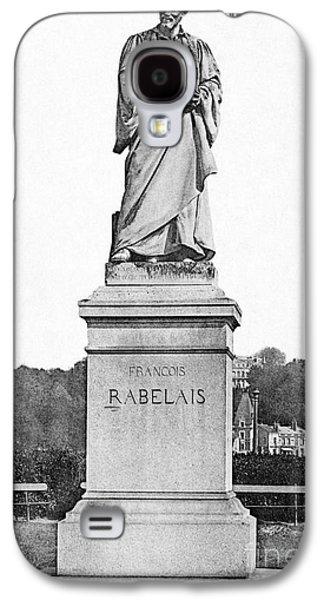Statue Portrait Galaxy S4 Cases - Francois Rabelais Galaxy S4 Case by Granger