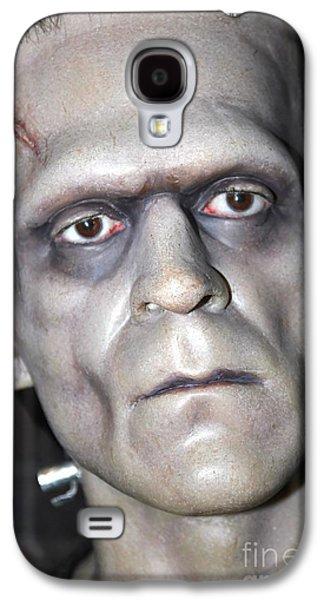 Statue Portrait Galaxy S4 Cases - Frankensteins Monster Galaxy S4 Case by Sophie Vigneault