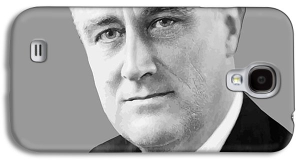 White House Galaxy S4 Cases - Franklin Delano Roosevelt Galaxy S4 Case by War Is Hell Store