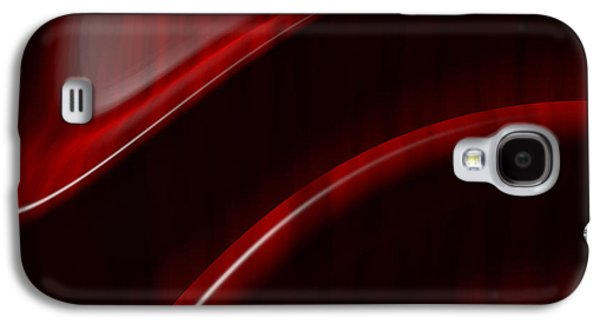 Mahogany Red Galaxy S4 Cases - Free Form  Galaxy S4 Case by Richard Rizzo