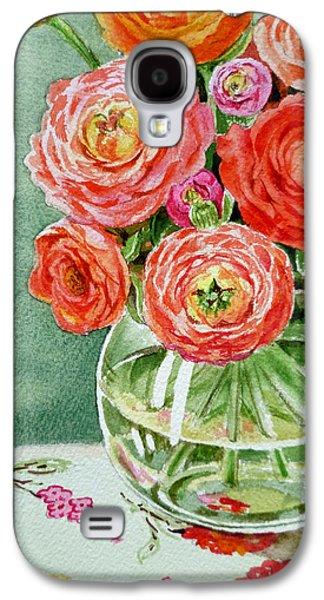 Fresh Cut Flowers Galaxy S4 Case by Irina Sztukowski