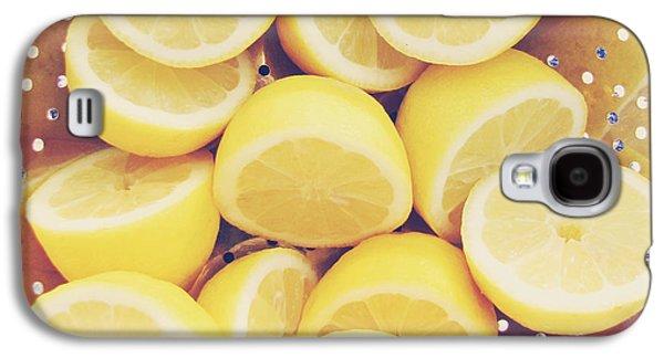 Fresh Lemons Galaxy S4 Case by Amy Tyler