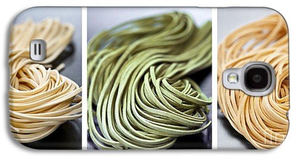 Fresh Tagliolini Pasta Galaxy S4 Case by Elena Elisseeva