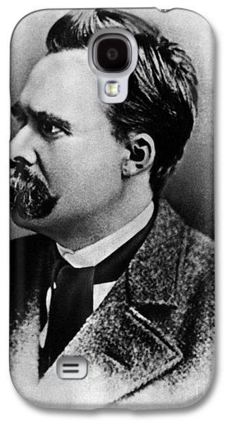Will Power Photographs Galaxy S4 Cases - Friedrich Wilhelm Nietzsche, German Galaxy S4 Case by Omikron