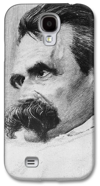 Will Power Photographs Galaxy S4 Cases - Friedrich Wilhelm Nietzsche, German Galaxy S4 Case by Photo Researchers