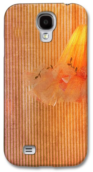 Lamp Galaxy S4 Cases - Frilly Galaxy S4 Case by Rebecca Cozart