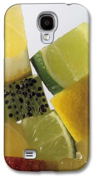 Fruit Squares Galaxy S4 Case by Veronique Leplat