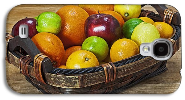 Apple Photographs Galaxy S4 Cases - fruits with vitamin C Galaxy S4 Case by Joana Kruse