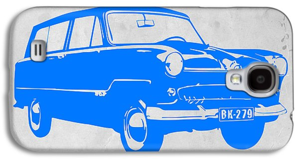 Vw Beetle Galaxy S4 Cases - Funny Car Galaxy S4 Case by Naxart Studio