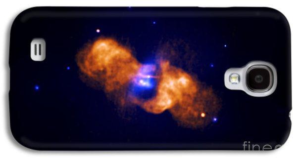 Jet Star Galaxy S4 Cases - Galaxy Collision Galaxy S4 Case by Nasa
