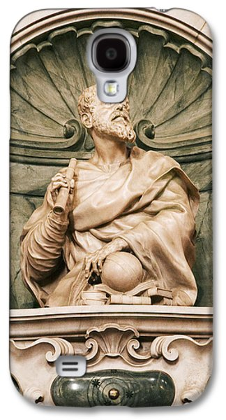 Statue Portrait Galaxy S4 Cases - Galileos Tomb, Florence, Italy Galaxy S4 Case by Sheila Terry
