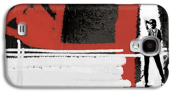 Gallery Paintings Galaxy S4 Cases - Gallery Galaxy S4 Case by Naxart Studio