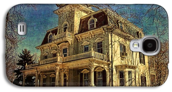 Architecture Framed Prints Galaxy S4 Cases - Gambrill Mansion Galaxy S4 Case by Lianne Schneider