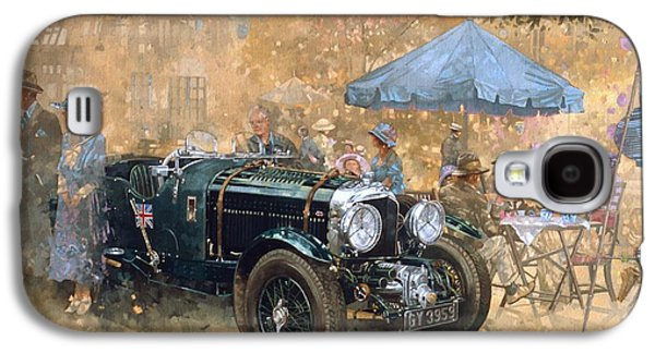 Garden Party With The Bentley Galaxy S4 Case by Peter Miller