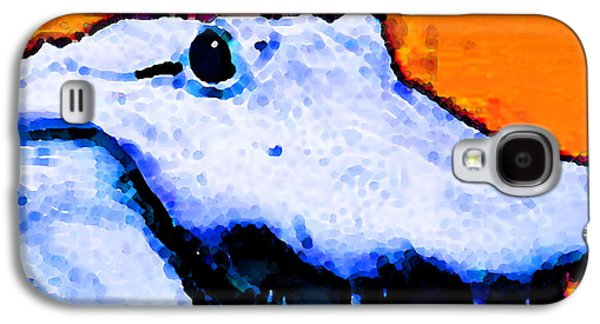 Sport Digital Art Galaxy S4 Cases - Gator Art - Swampy Galaxy S4 Case by Sharon Cummings