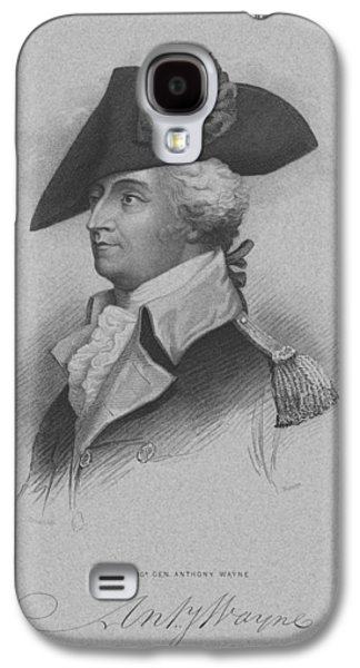 Revolutionary War Mixed Media Galaxy S4 Cases - General Anthony Wayne Galaxy S4 Case by War Is Hell Store